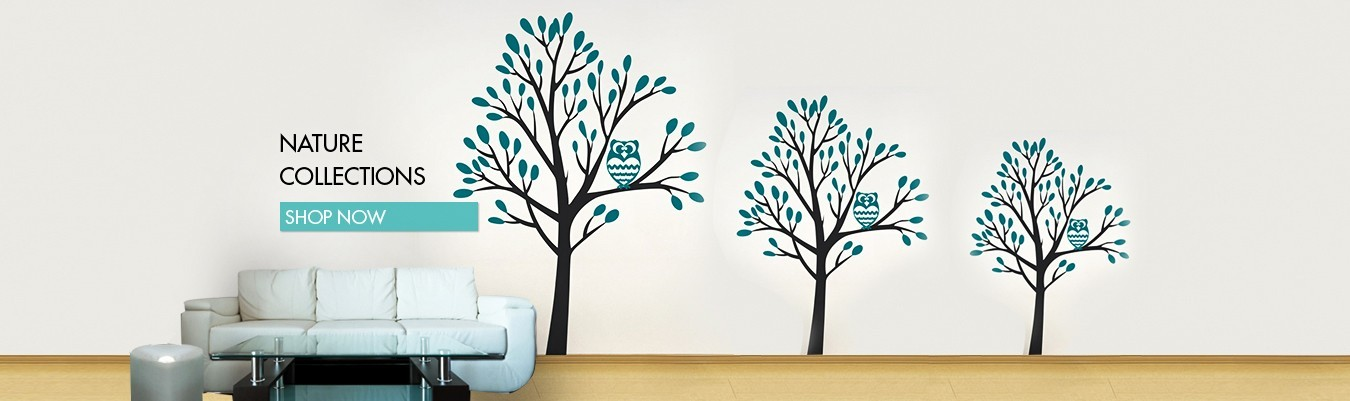 floral dubai wall decal sticker for home decoration. designs sticker