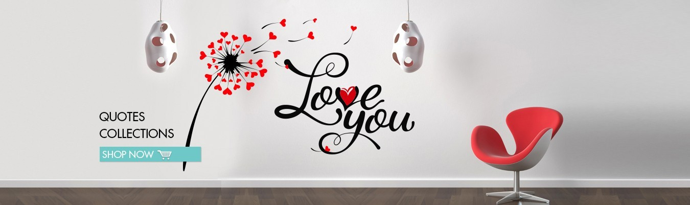 Calligraphy Dubai Wall Decal sticker for home decoration Designs
