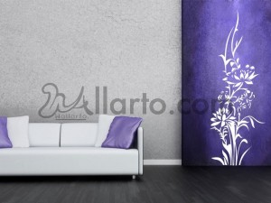 Floral Dubai Wall Decal Sticker For Home Decoration Designs - Wall decals dubai